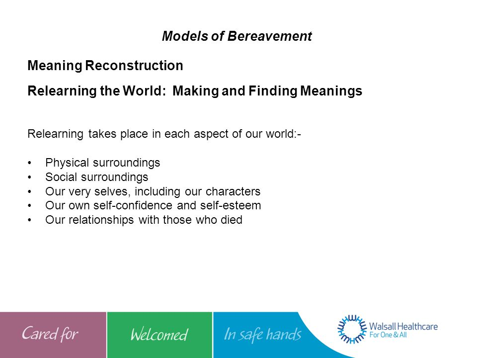 Meaning Reconstruction