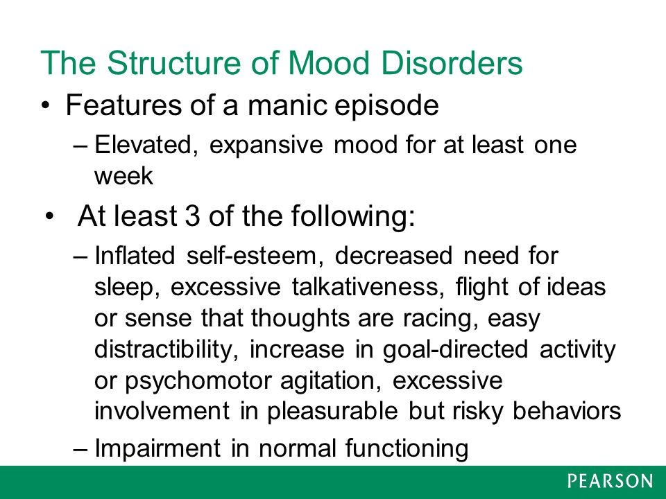 The Structure of Mood Disorders