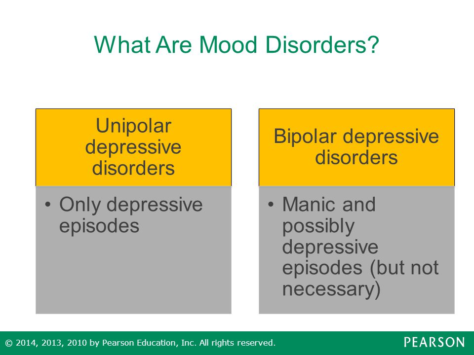 What Are Mood Disorders