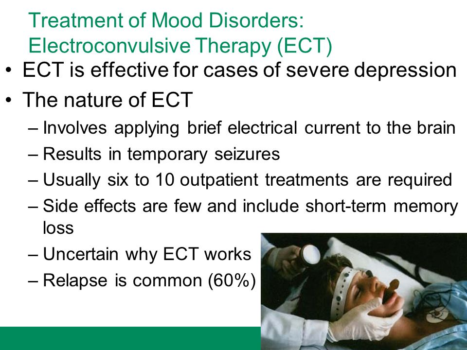 Treatment of Mood Disorders: Electroconvulsive Therapy (ECT)