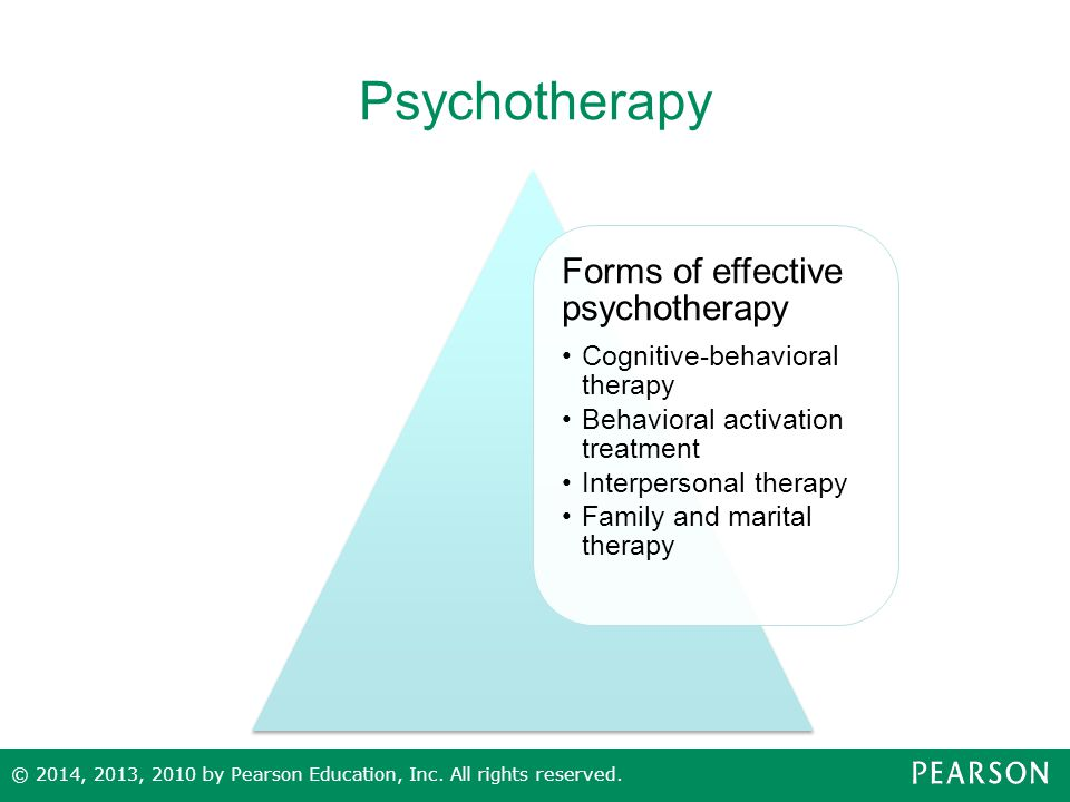 Psychotherapy Forms of effective psychotherapy