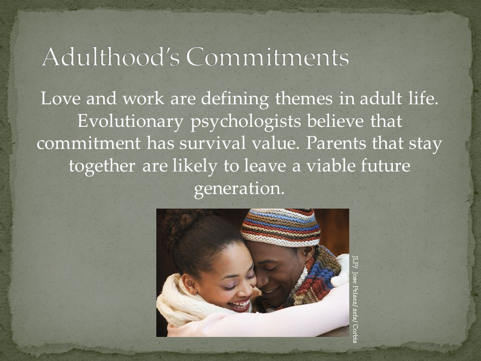Adulthood's Commitments