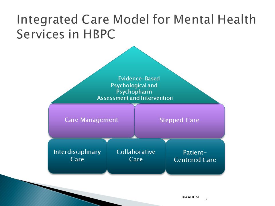 Integrated Care Model for Mental Health Services in HBPC
