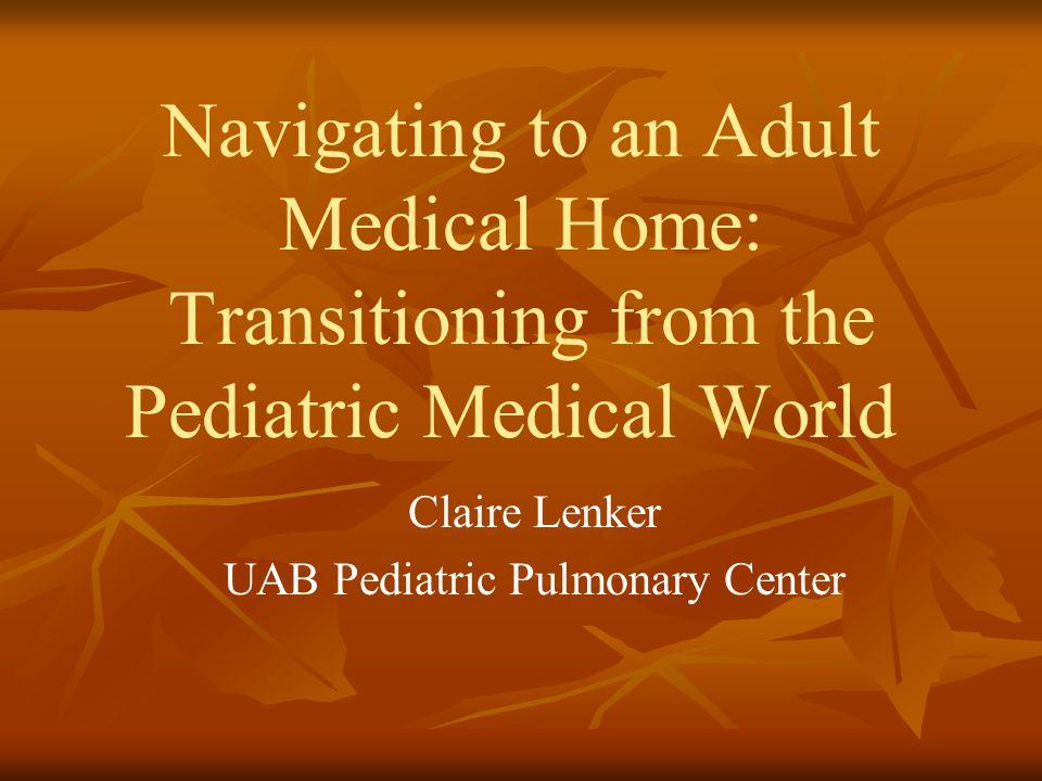 Claire Lenker UAB Pediatric Pulmonary Center