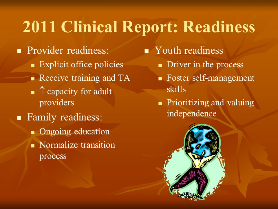 2011 Clinical Report: Readiness