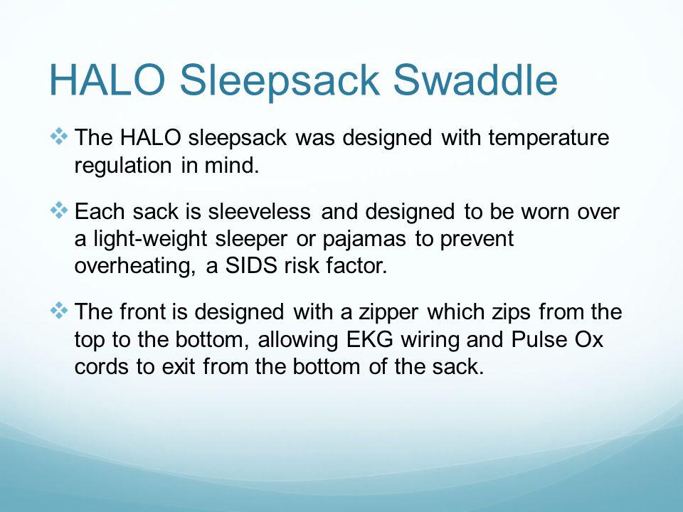 HALO Sleepsack Swaddle