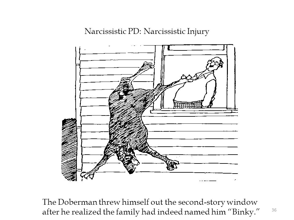 Narcissistic PD: Narcissistic Injury