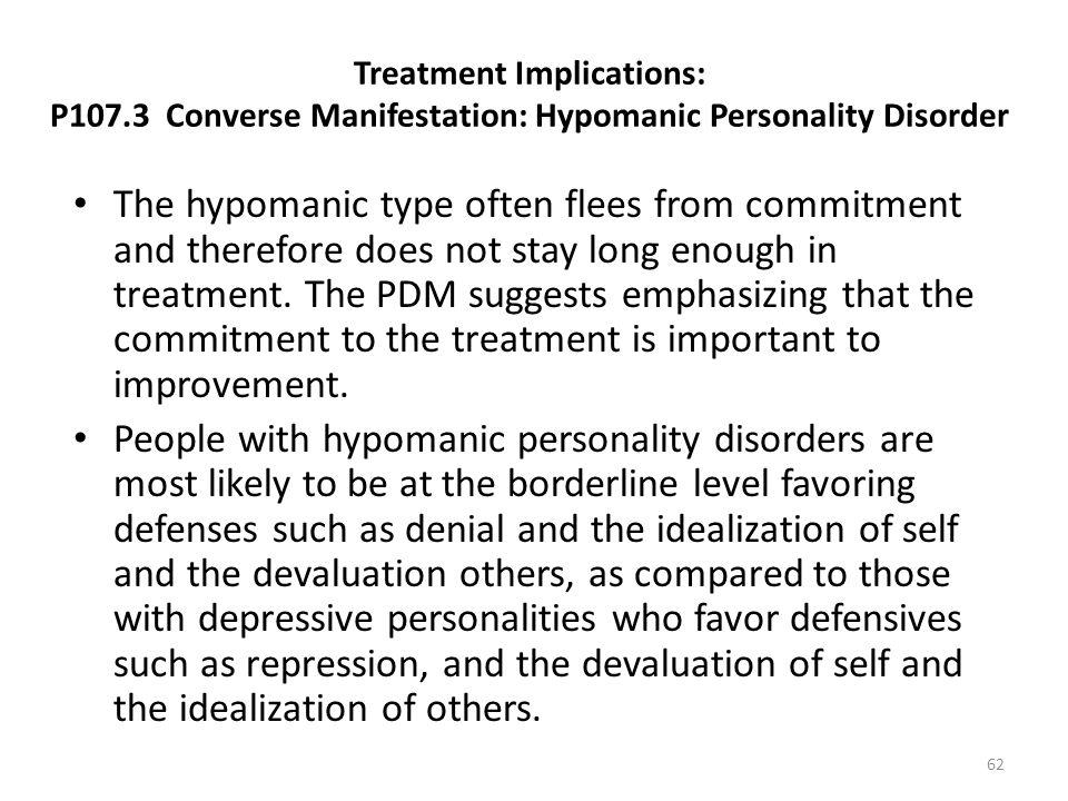 Treatment Implications: P107