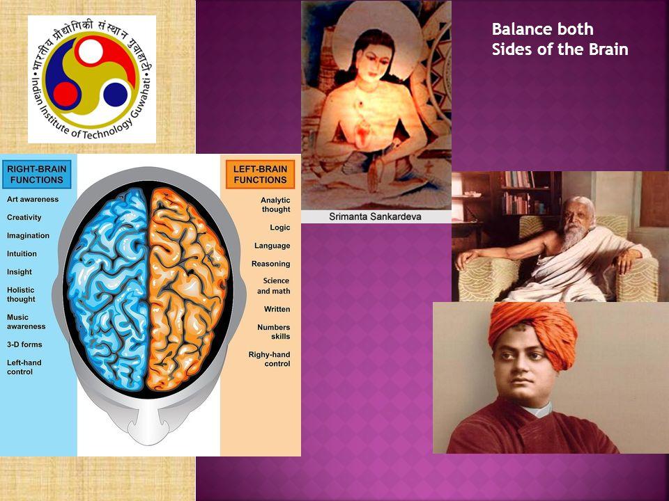 Balance both Sides of the Brain