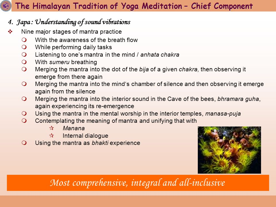 Given birth to major meditative traditions of the world
