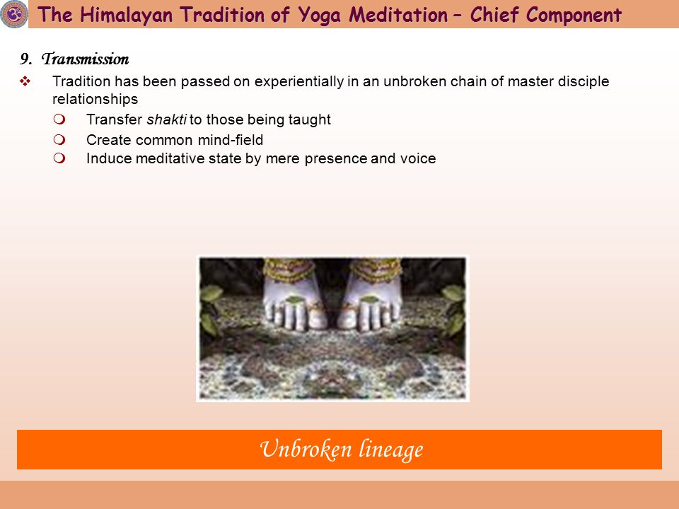 May you receive the grace of the Himalayan Lineage