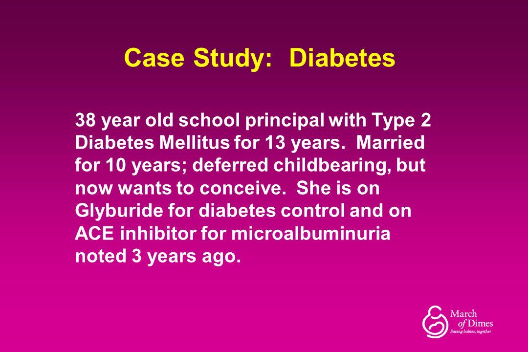 Case Study: Diabetes