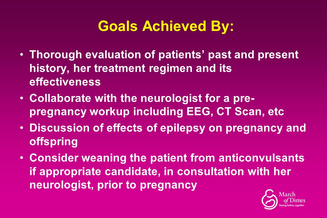 Goals Achieved By: Thorough evaluation of patients' past and present history, her treatment regimen and its effectiveness.