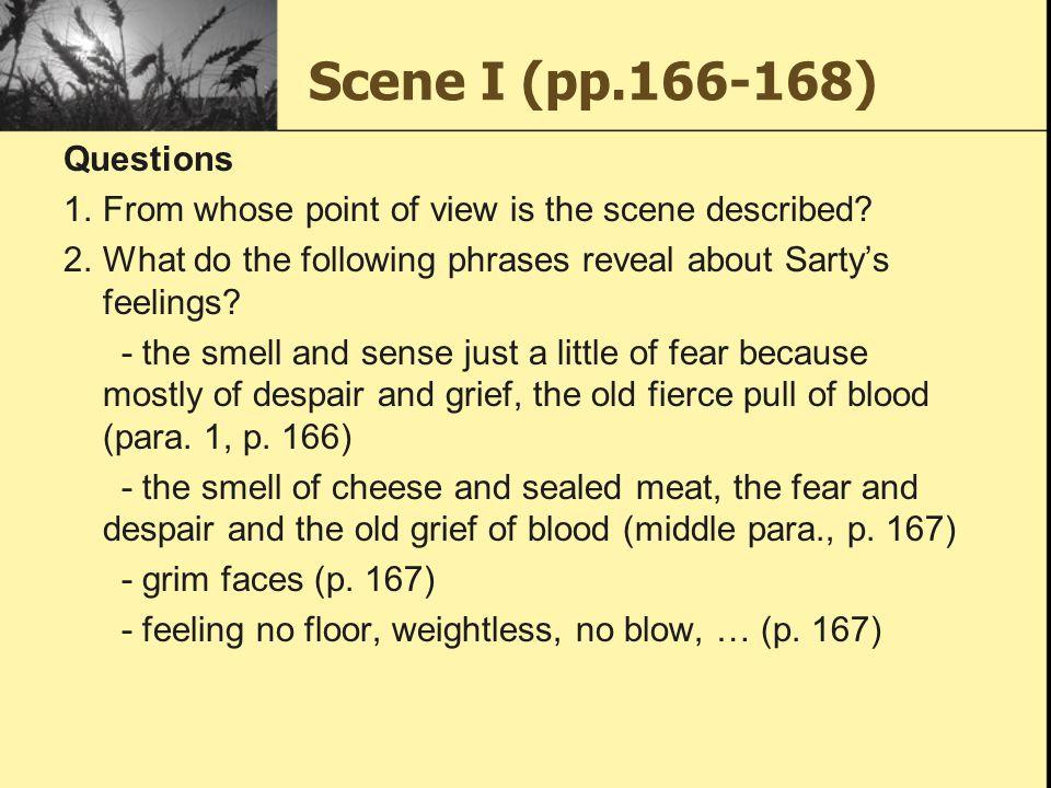 Scene I (pp.166-168) Questions