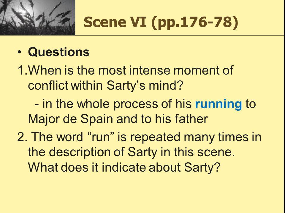 Scene VI (pp.176-78) Questions