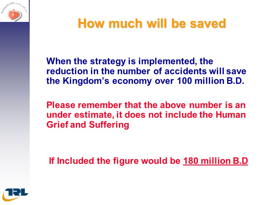 How much will be saved