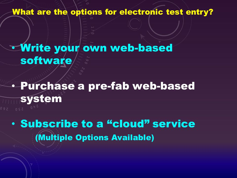 Write your own web-based software