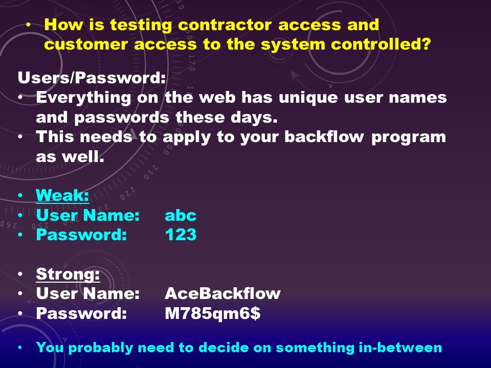 Everything on the web has unique user names and passwords these days.