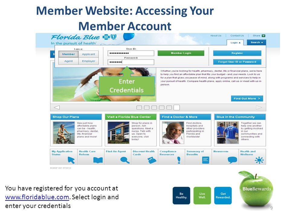 Member Website: Accessing Your Member Account