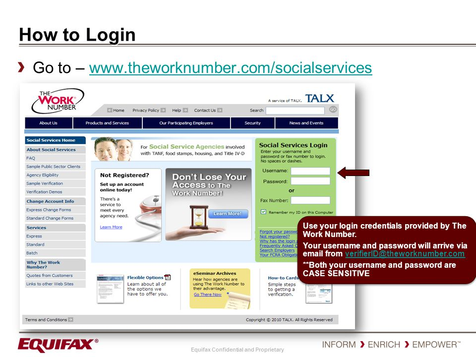 How to Login Go to – www.theworknumber.com/socialservices