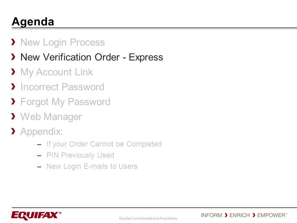 Agenda New Login Process New Verification Order - Express