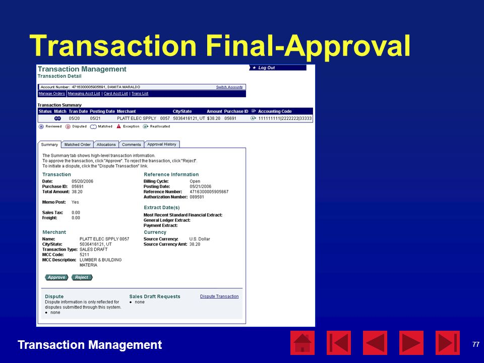 Transaction Final-Approval
