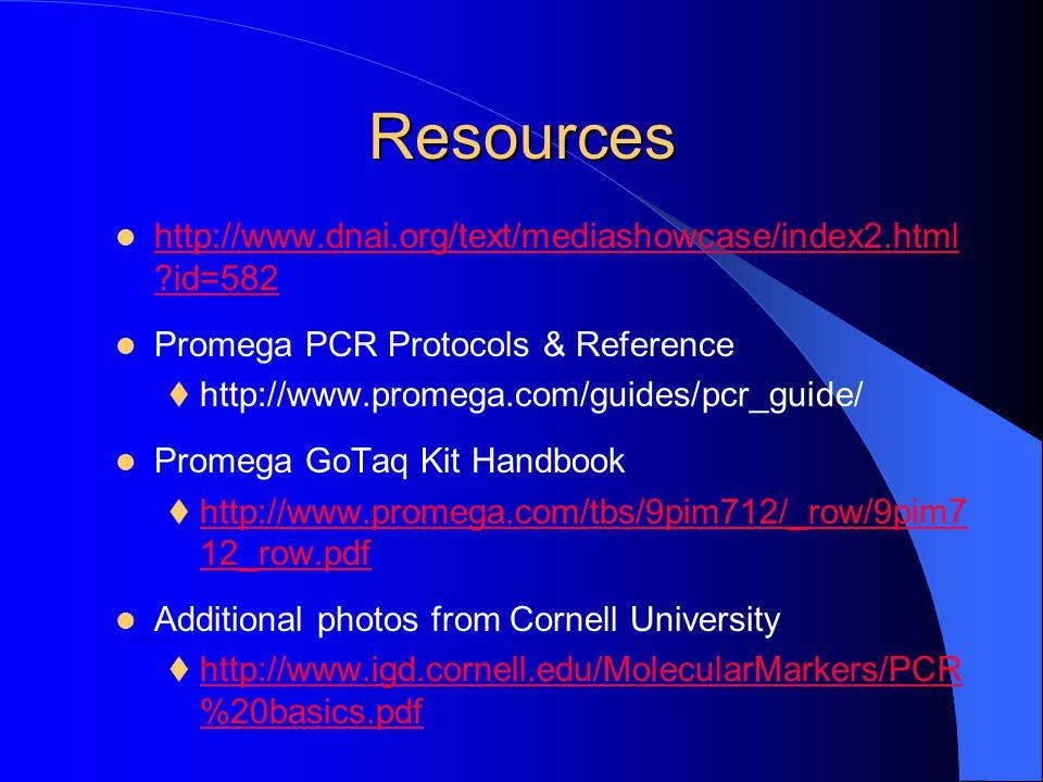 Resources http://www.dnai.org/text/mediashowcase/index2.html id=582