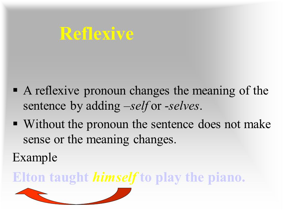 Reflexive Elton taught himself to play the piano.