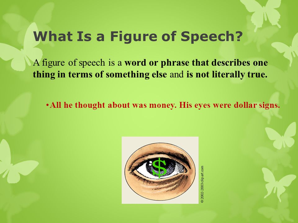 What Is a Figure of Speech