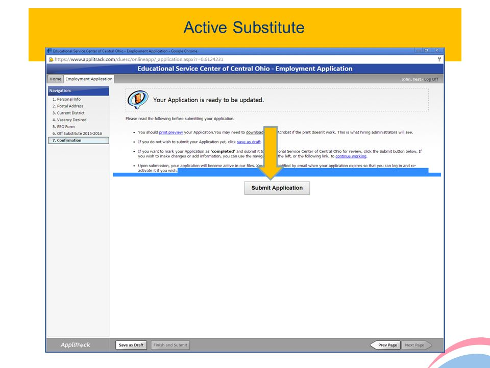 Active Substitute