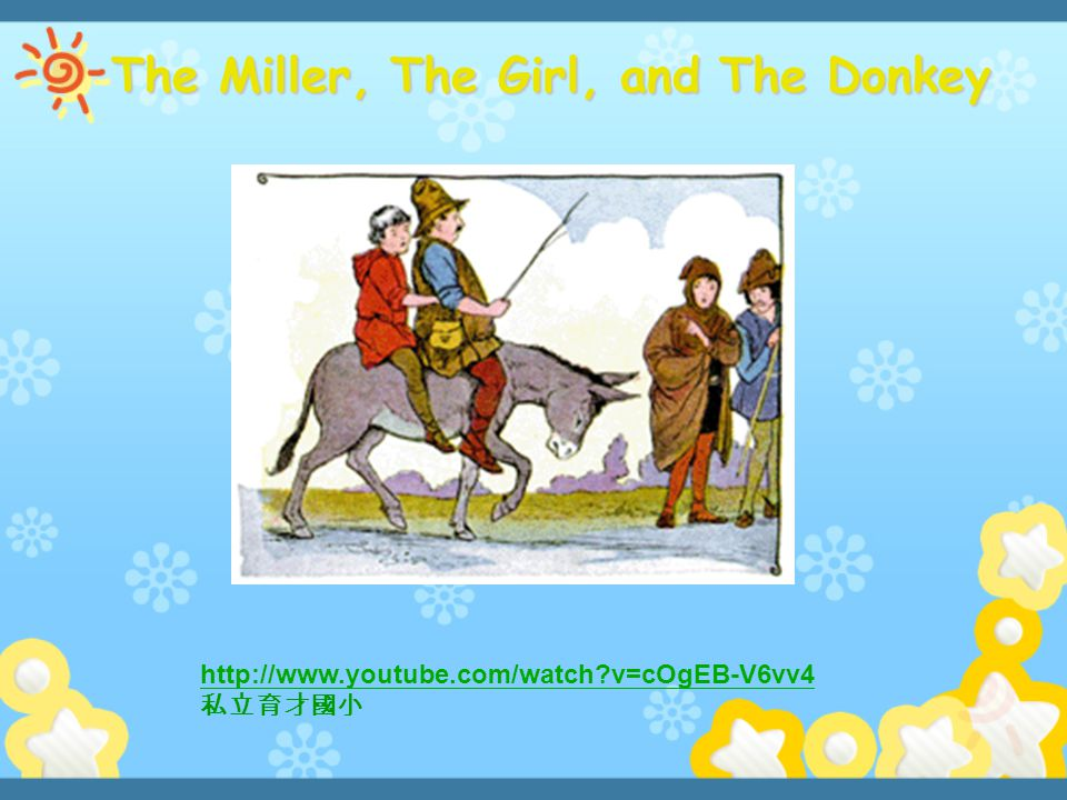 The Miller, The Girl, and The Donkey