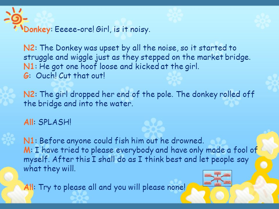 Donkey: Eeeee-ore! Girl, is it noisy.