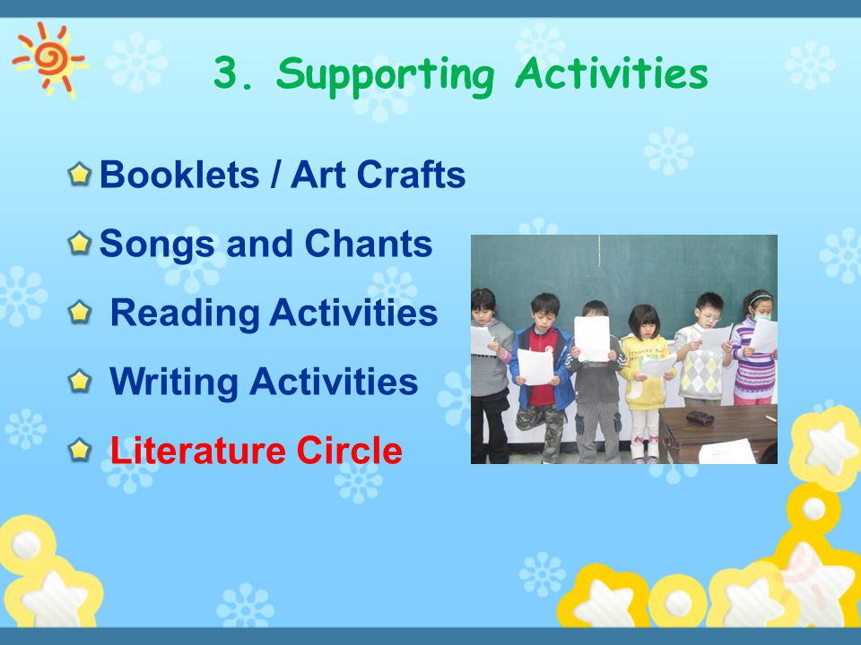 3. Supporting Activities