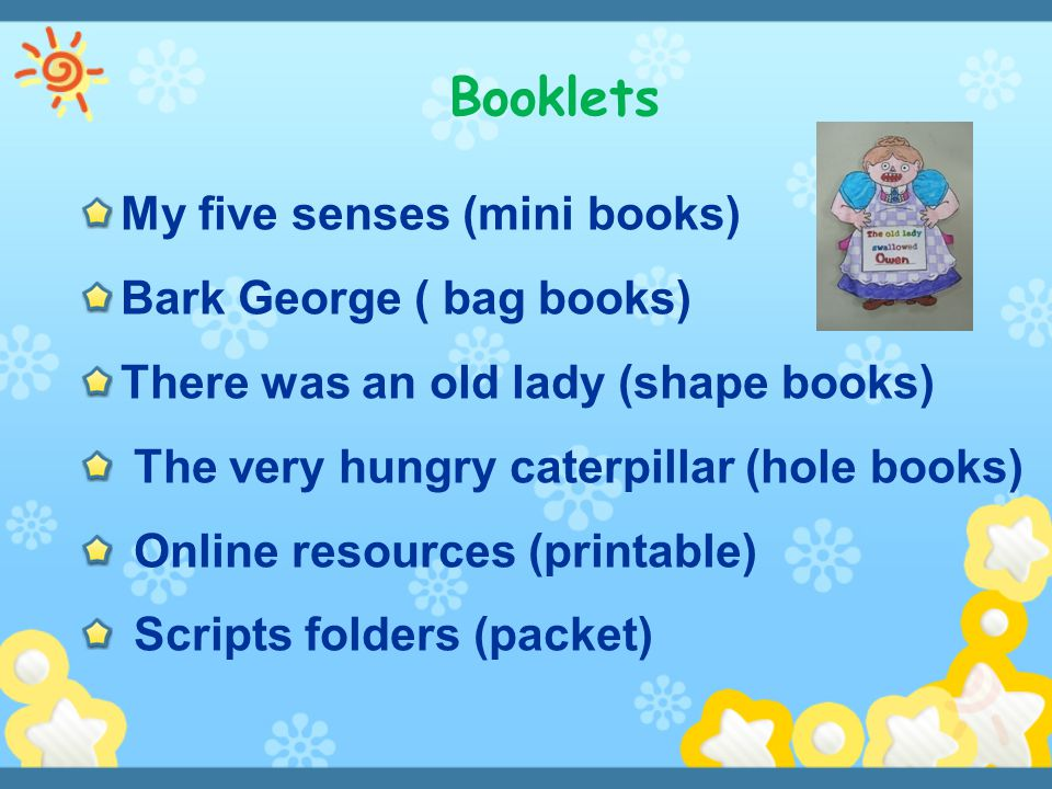 Booklets My five senses (mini books) Bark George ( bag books)