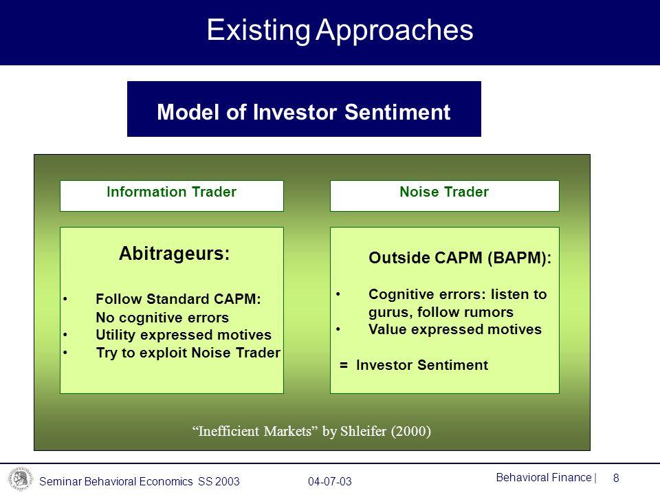 Model of Investor Sentiment
