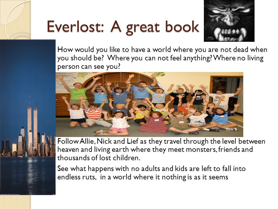 Everlost: A great book