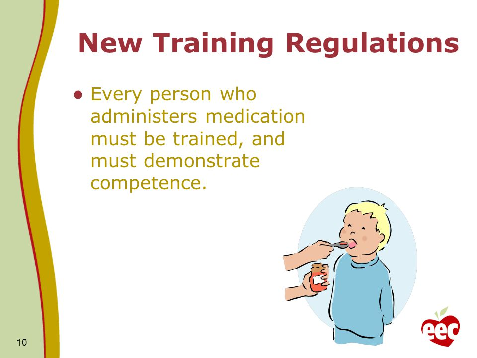 New Training Regulations