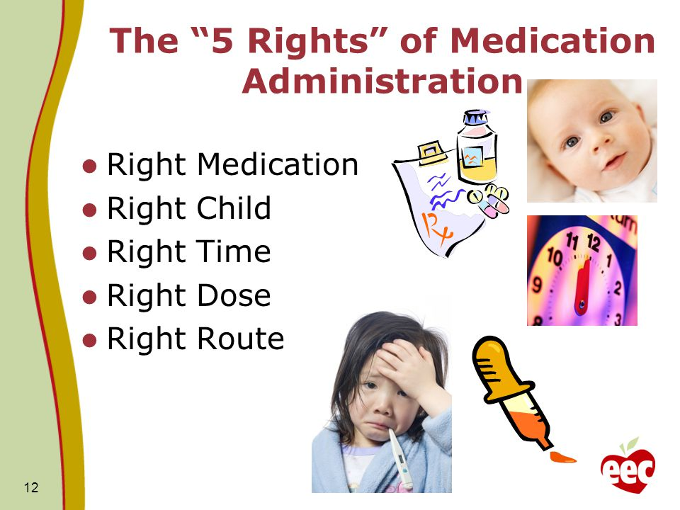 The 5 Rights of Medication Administration