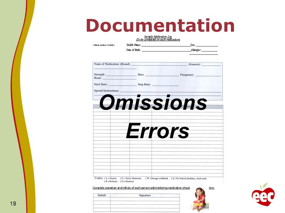Omissions Errors Documentation
