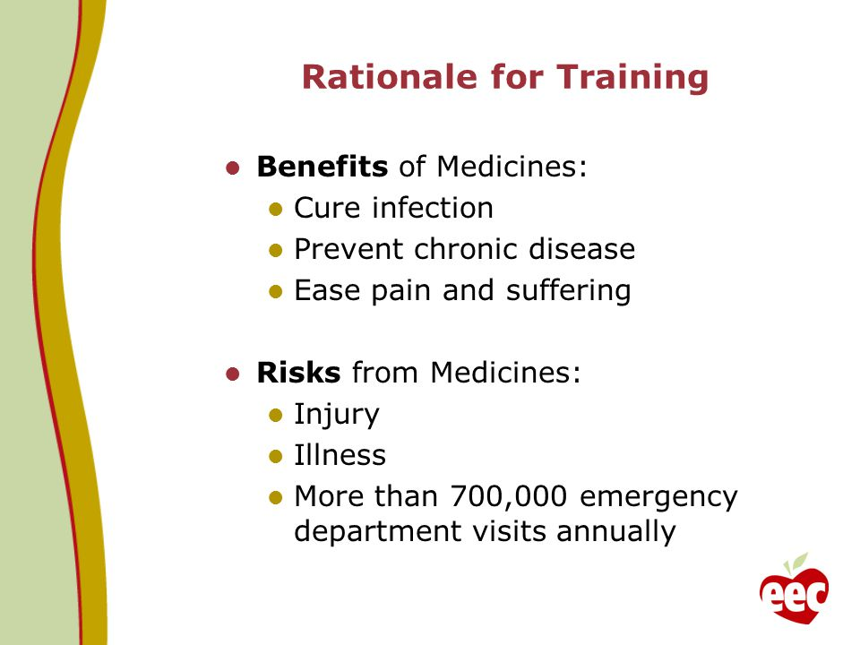 Rationale for Training