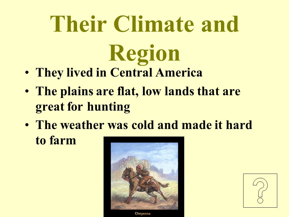 Their Climate and Region