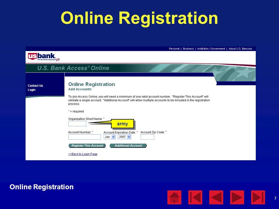 Online Registration Online Registration army Online Registration