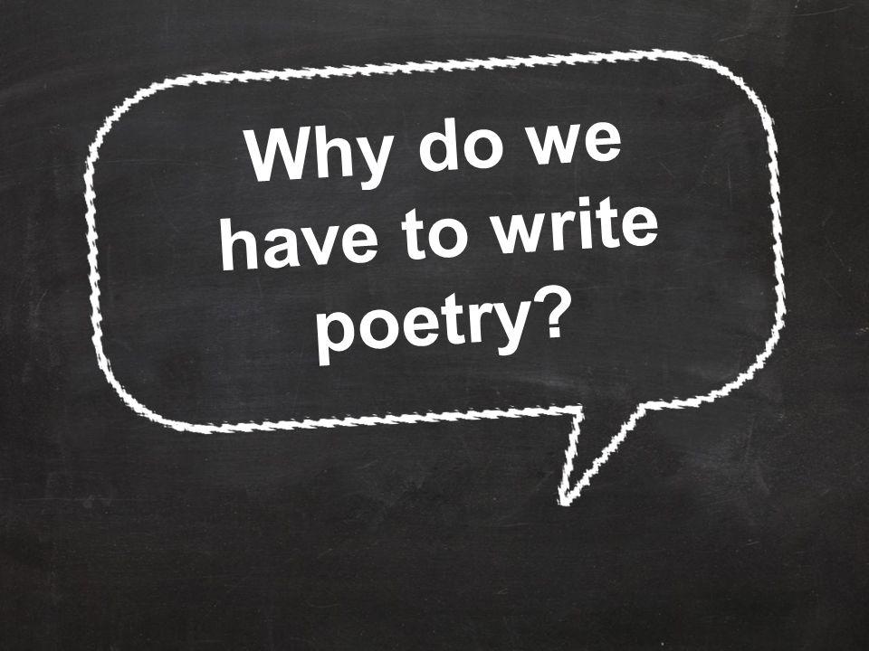 Writing Poetry K.14B - write short poems.