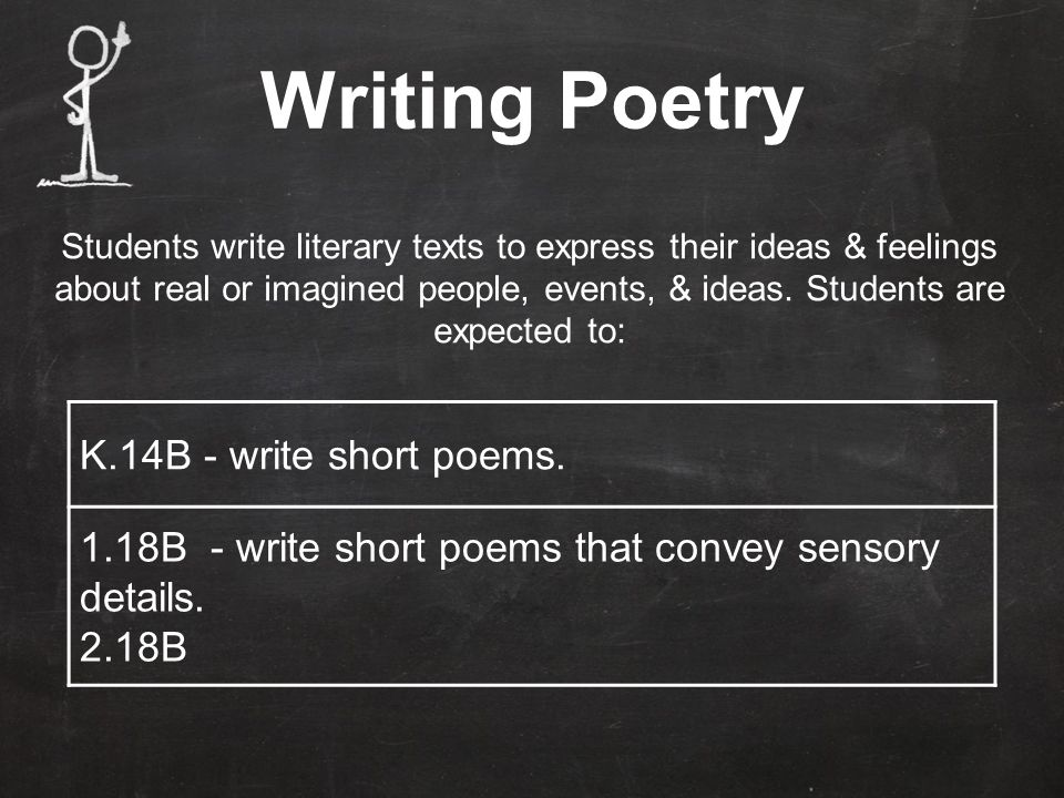 How to Write a Poem A poem is a collection of words that express an emotion or idea. What do you know a lot about