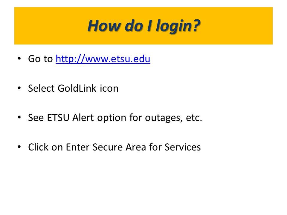 What's in GoldLink How do I login