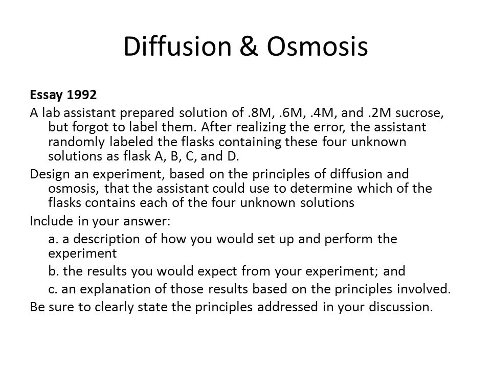 "lab review ""the dirty dozen"" ppt video online  diffusion osmosis"
