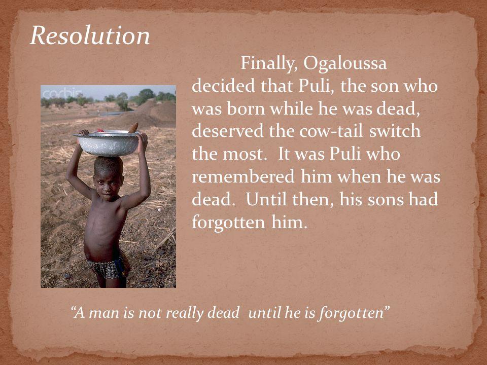 A Liberian Folk Tale Presented By: Ms. Wilkin