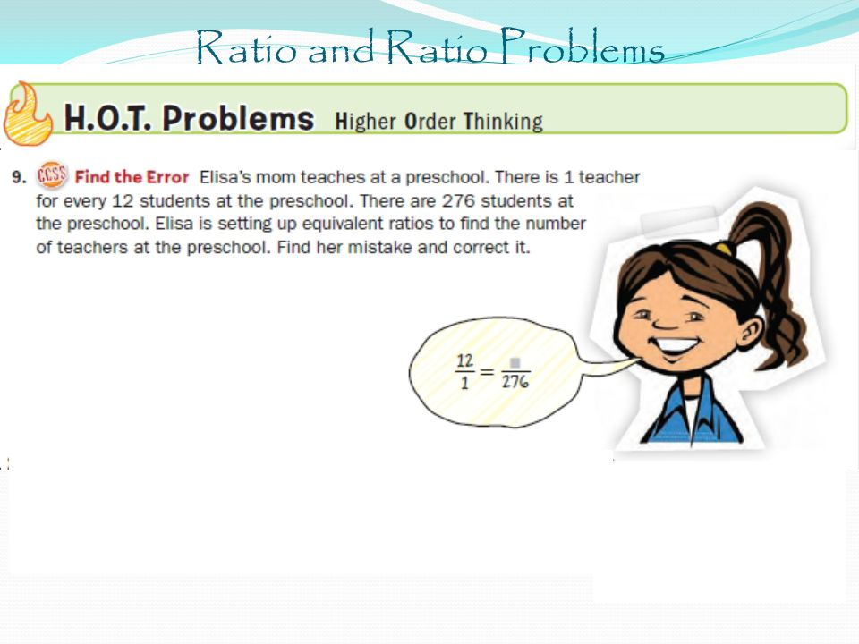 Ratio and Ratio Problems