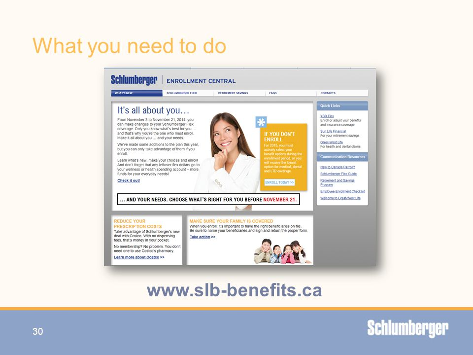What you need to do www.slb-benefits.ca