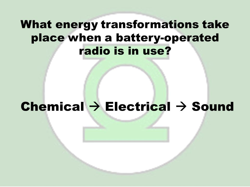 Chemical  Electrical  Sound